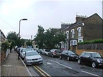 TQ3386 : Kersley Road, Stoke Newington by Chris Whippet