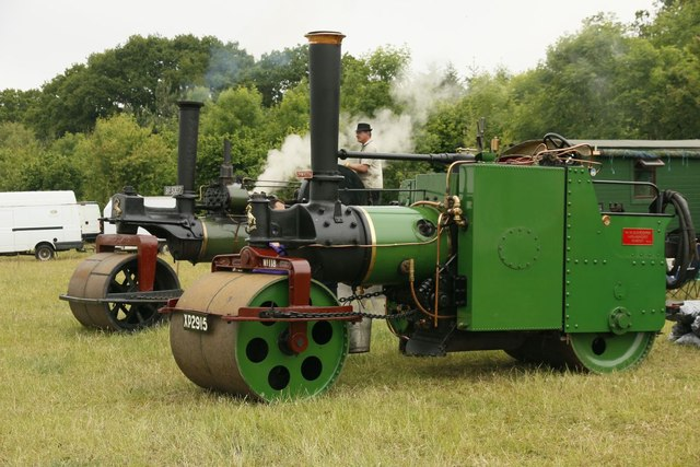 Couple of Steam Rollers