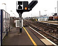 SU5290 : Signal SB 921, Didcot Parkway railway station by Jaggery