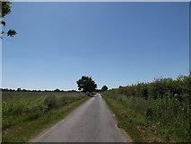 TM3173 : Cratfield Lane, Cratfield by Adrian Cable
