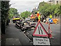 SX9065 : Arson scene, Teignmouth Road, Torquay by Derek Harper
