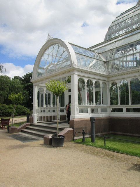 Entrance  to  the  Palm  House  Sefton  Park