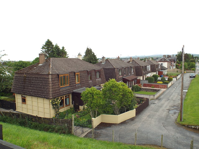 Houses on Fairfield Road, Inverness