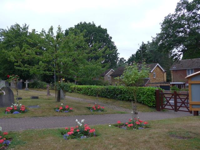 St John the Baptist, Crowthorne: churchyard (g)