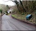 SO5207 : Roadside grit box, Whitebrook by Jaggery