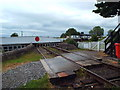 NH6446 : Level crossing at Clachnaharry, Inverness by Malc McDonald