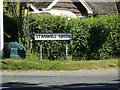 TM1370 : Stanwell Green sign by Adrian Cable