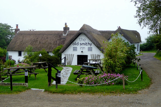 The Old Smithy Inn at Darracott, Devon
