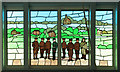 TF1366 : War Memorial window by Richard Croft