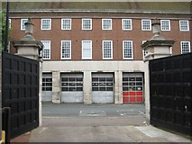 SO8454 : Worcester's former Fire Station by Philip Halling