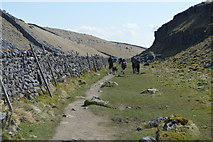 SD8964 : Pennine Way, Watlowes Dry Valley by N Chadwick