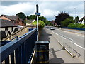 SJ8840 : A5035 crossing the Trent & Mersey Canal in Trentham by Mat Fascione