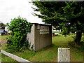 SN3607 : Tan-y-Lan private caravan park name sign, St Ishmael by Jaggery