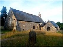TM4560 : St Andrew's church, Aldringham cum Thorpe by Bikeboy