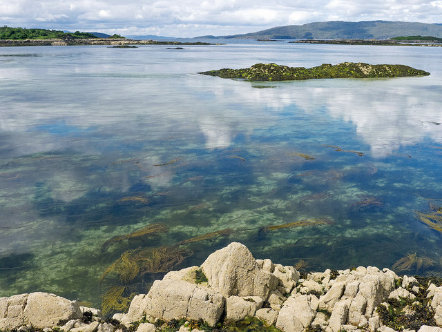 Clear water by the Plock of Kyle