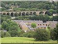 SE0822 : West end of Copley village by Stephen Craven