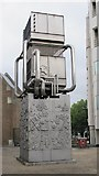 TQ2978 : Paolozzi sculpture, Pimlico tube station, Bessborough Street, SW1 by Mike Quinn