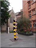 TQ2880 : Public artwork, Mount Street, Mayfair by Julian Osley