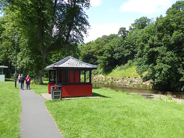 Riverside walk at Appleby-in-Westmorland