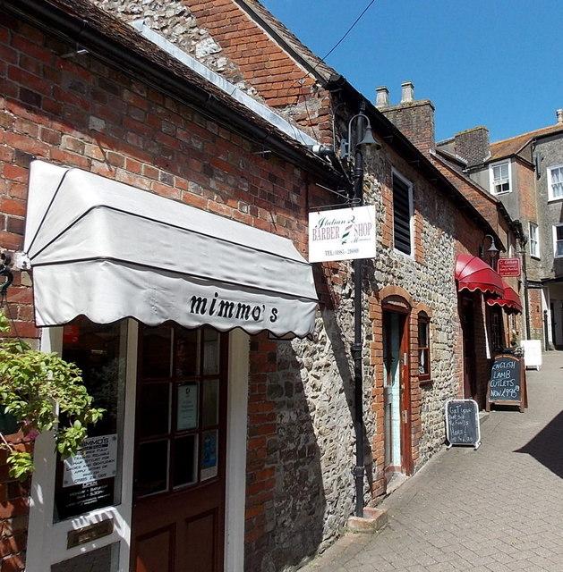 Italian Barber Shop in Warminster