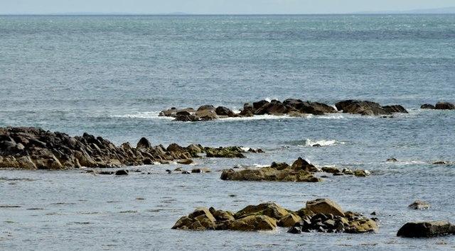 The shore at Templepatrick, Donaghadee (July 2015)