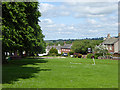NY6825 : North side of Dufton village green by Oliver Dixon