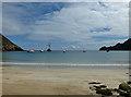 NF1099 : Sandy beach on Village Bay by John Allan