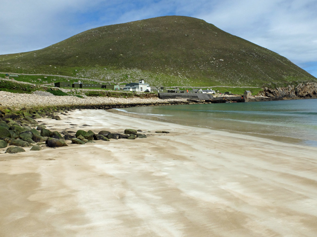Beach on Hirta