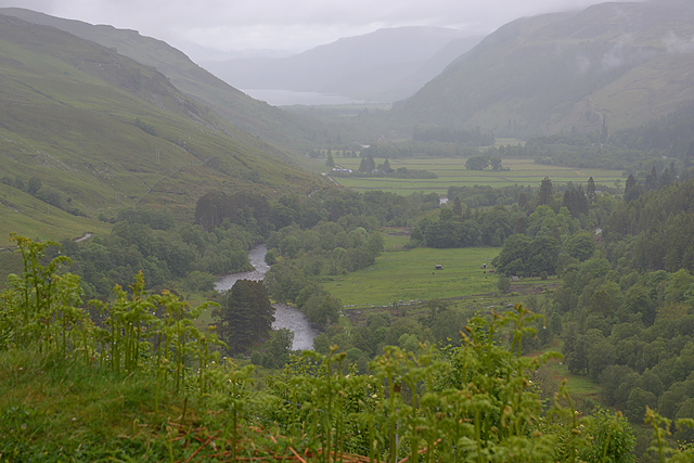 View down Strath More