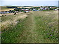 TQ3603 : Path to Ovingdean by Marathon
