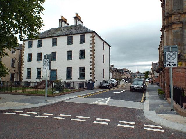 Balnain Street and Balnain House, Inverness