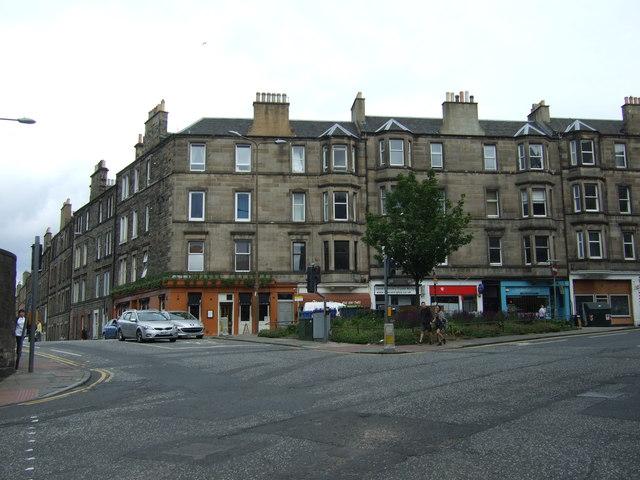 Shops on Rodney Street by JThomas
