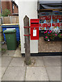 TG2114 : Back Street Post Office Postbox by Adrian Cable