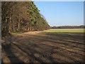 TL7889 : Arable field near Brickkiln Farm by Hugh Venables