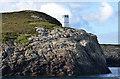 NF9569 : Light on Rubha an Fhigheadair by John Allan