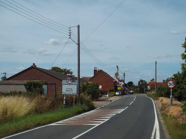 Clacton Road, Little Oakley