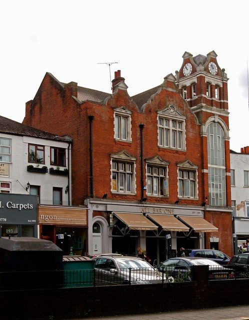 Old fire station building, Chiswick High Road, London W4