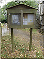 TM2472 : St.Mary's Church Notice Board by Adrian Cable