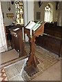 TM2472 : St.Mary's Church Lectern by Adrian Cable