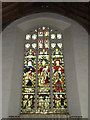 TM2472 : St.Mary's Church Stained Glass Window by Adrian Cable