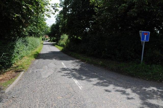 No through road at Kyrewood