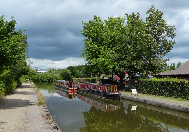 Trent & Mersey Canal at Etruria