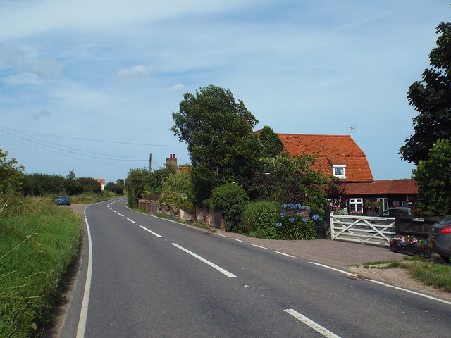 B1414 Harwich Road, near Beaumont