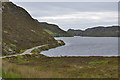 NC1847 : Road and loch by Nigel Brown