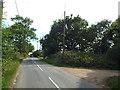 TM1423 : Crow Lane, near Weeley by Malc McDonald