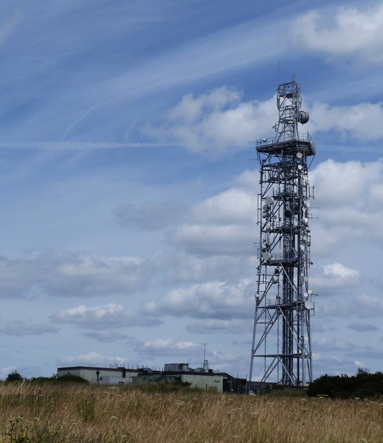 Butser Hill - Communications mast