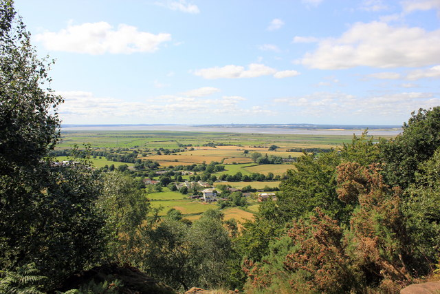 View towards Liverpool from The Sandstone Trail