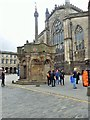 NT2573 : Replica of the original Mercat Cross, Edinburgh by Stanley Howe