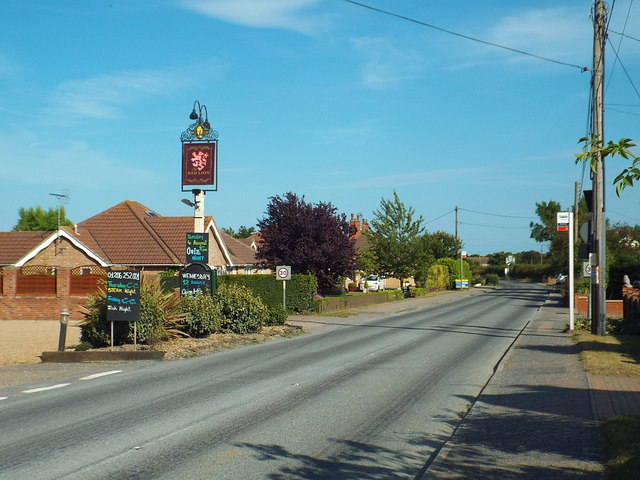 Clacton Road, Thorrington