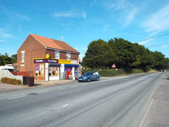 Thorrington post office and shop